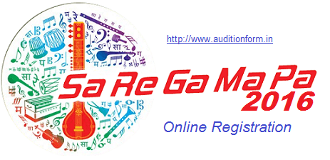 Zee TV Auditions Sa Re Ga Ma Pa Auditions and Online