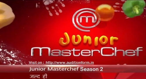 MasterChef India Junior 2017 Auditions and Registration Form [Season 2]