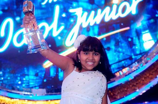 Indian Idol Junior Winners