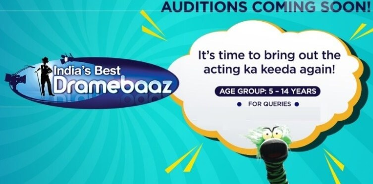 India's Best Dramebaaz Season 4 Auditions 2020 and IDB Registration