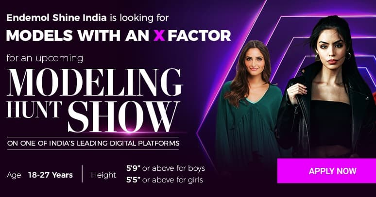 Modeling Hunt Show Audition 2019 & Registration Open on EndemolShine