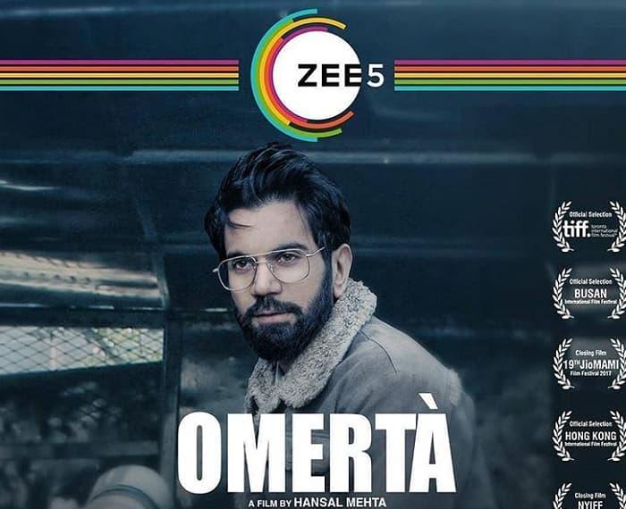 ZEE5 Film Omerta Release Date, Story, Cast, Trailer, Where To Watch?