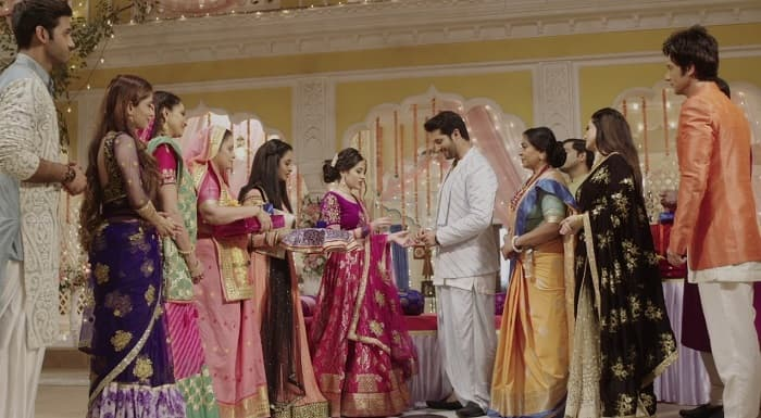 Nevertheless Ved and Payal are finally engaged in Aye Mere Humsafar