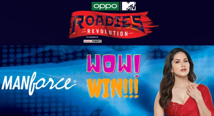 Roadies Revolution X Manforce Play and Win Exciting Prizes Here