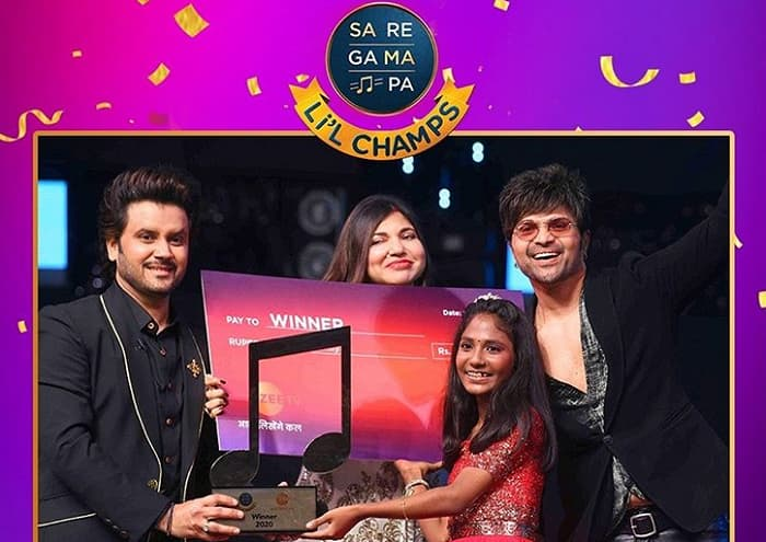 Sa Re Ga Ma Pa Li'l Champ 2020 Winner Name: Aryananda Babu -Zee TV
