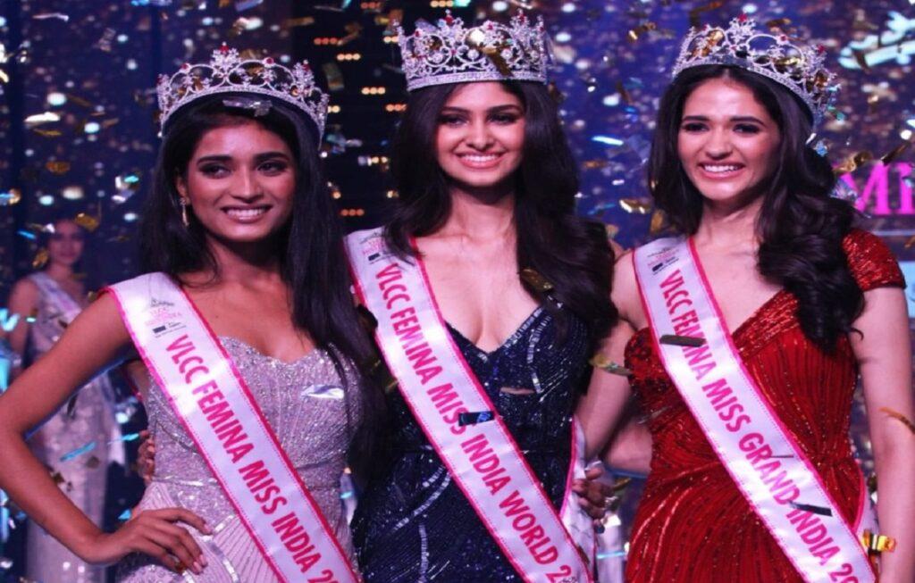 Miss India 2020 Winner Name is Manasa Varanasi from Telangana