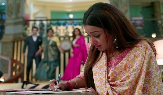 Janki signs the divorce papers in Prem Bandhan
