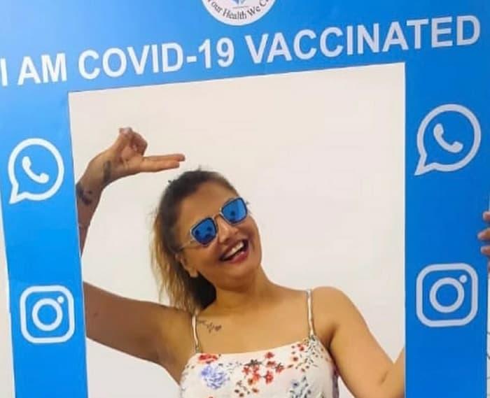 Sudha Chandran and Deepshika Nagpal shares their experience of vaccination