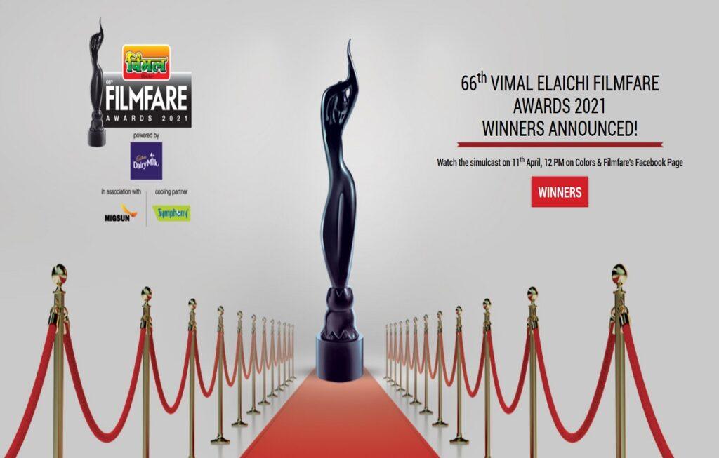 Filmfare Awards 2021 Winner List, nominations, telecast date on tv