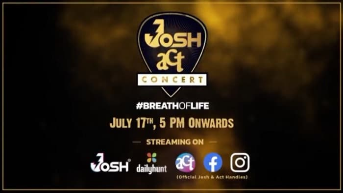 JOSHACT Concert Host Name, Schedule, Where to Watch Live Telecast